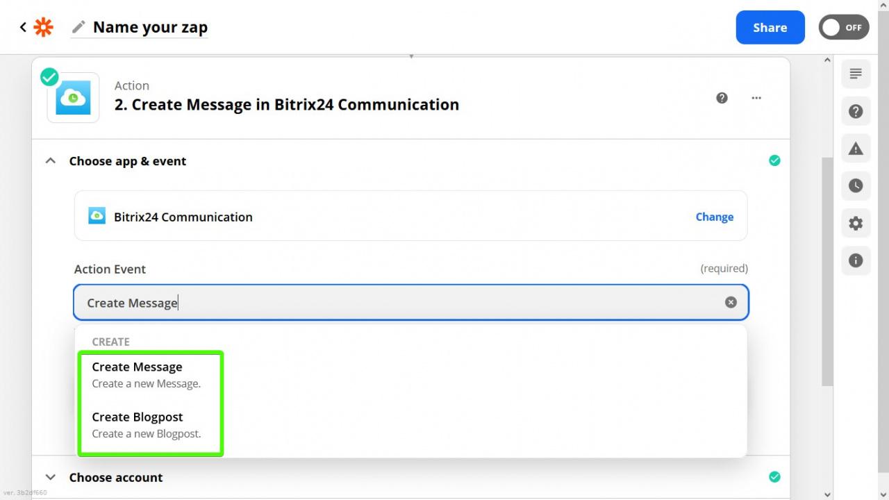 gửi thông báo và tin nhắn tới Bitrix24 Feed