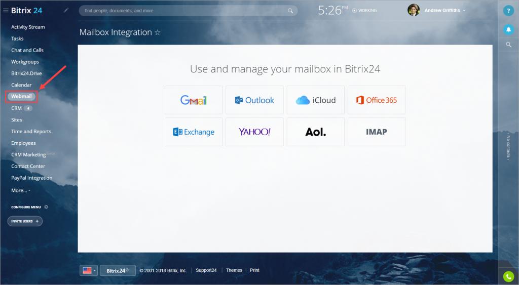 Mailbox integration