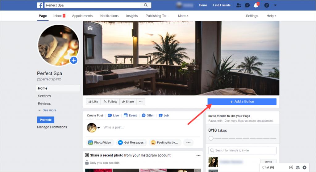 Kết nối Trang Facebook với Thông tin bán hàng