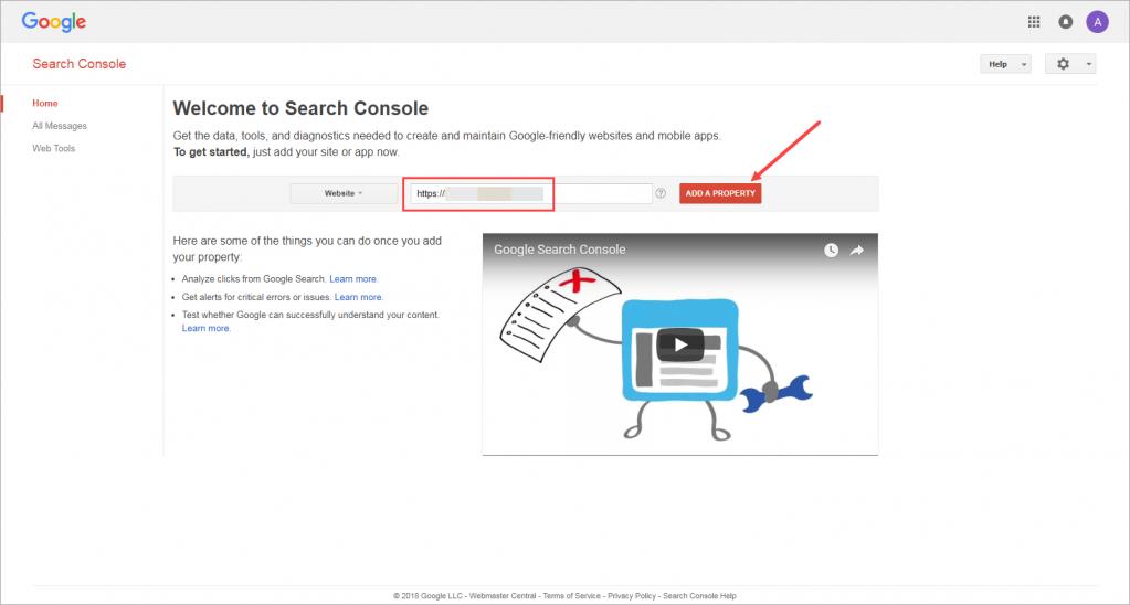 Thêm trang web của bạn vào Google