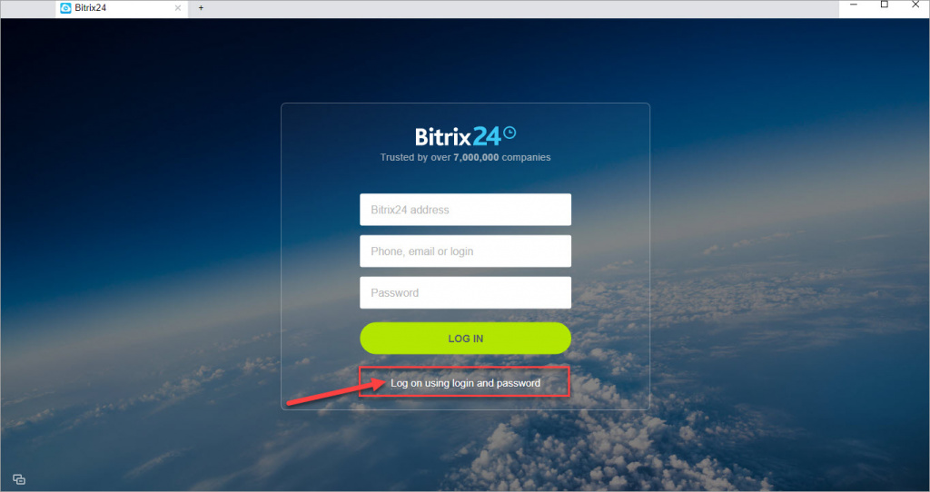 Bitrix24 Log in to desktop network.jpg