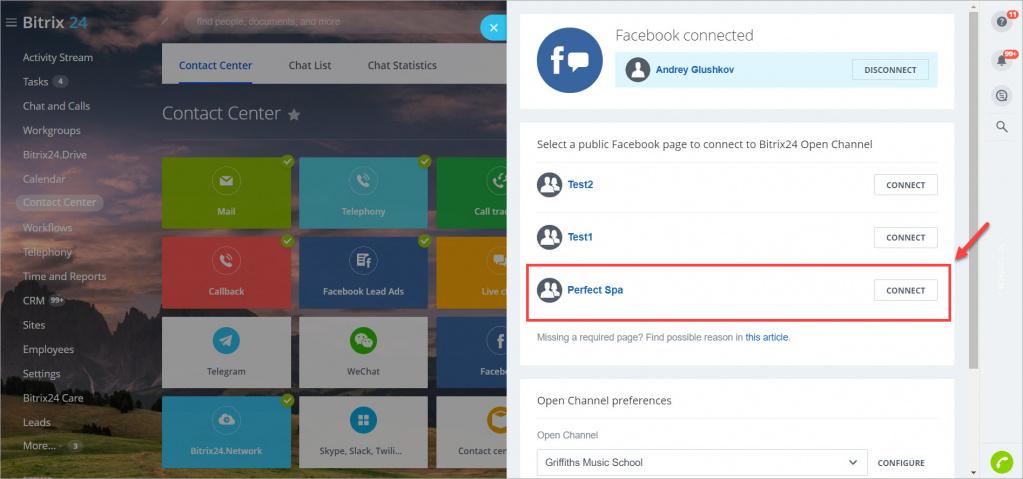 Khắc phục sự cố khi kết nối Instagram và Facebook với Bitrix24