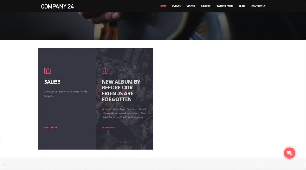 Thêm một khối Newsfeed vào trang web của bạn